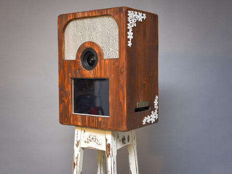 Sirmione, Lake Garda luxury retro style Photo Booth. Shoot , Print,  Share your photos.