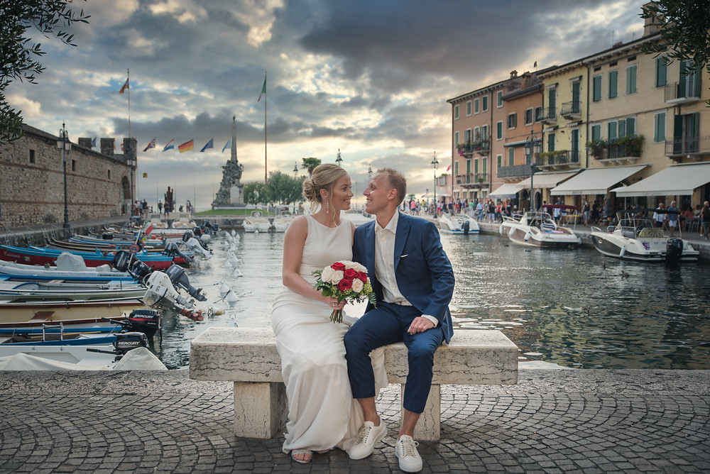 wedding photographer in Lake Garda