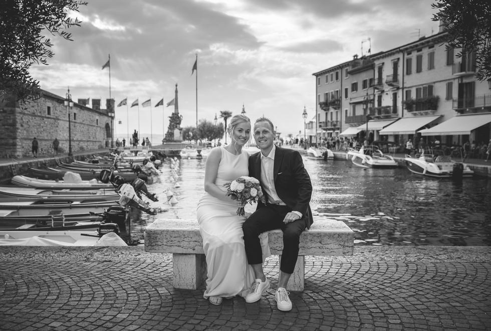 wedding photographer lazise