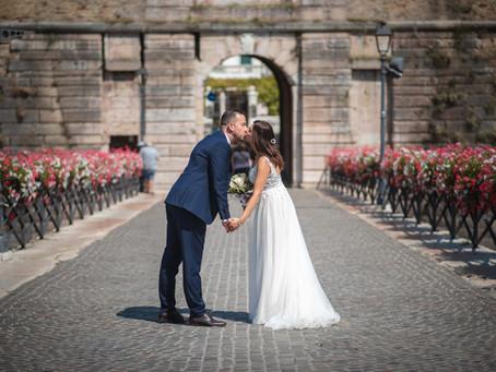 Matrimonio civile a Peschiera del Garda, sposarsi in vacanza sul Lago di Garda.