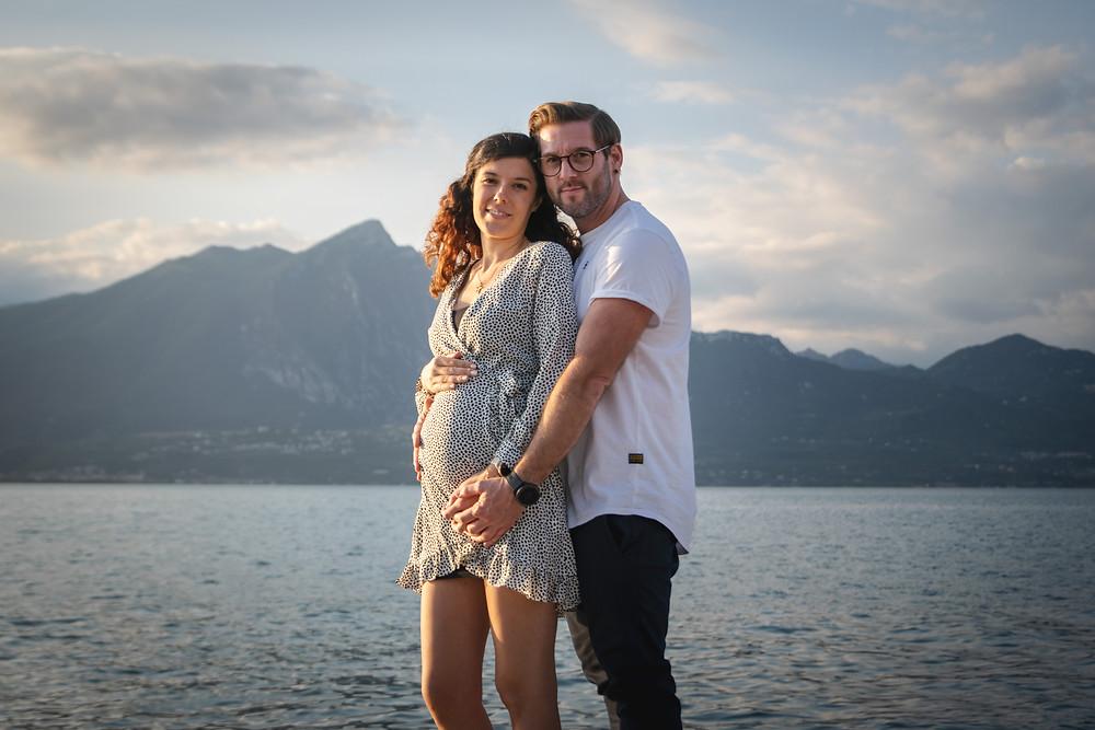 torri del benaco fotografo gravidanza