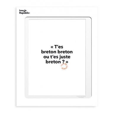 Tirage LOÏC PRIGENT BRETON30x40 cm
