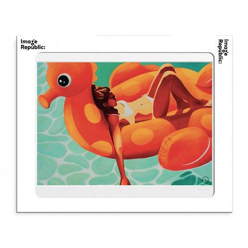 Tirage EMILIE ARNOUX CHILDHOOD 40x50 cm