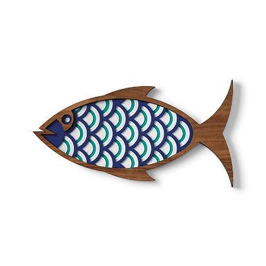 Décoration murale THE FISH#1