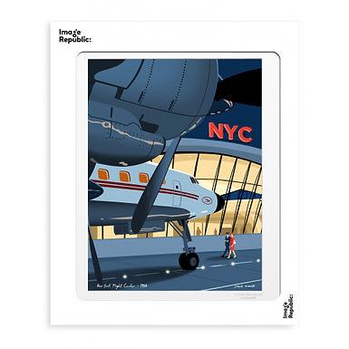 Tirage PAULO MARIOTTI JFK 40x50 cm