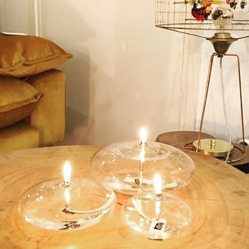 Lampe à huile galet