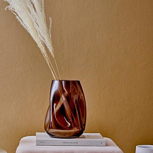Vase BROWN WAVE