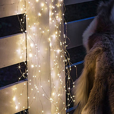 Guirlande lumineuse KNIRKE SILVER 200 LEDS