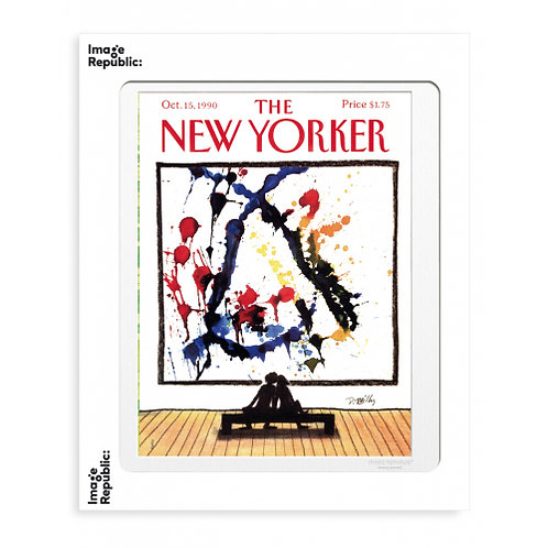 Tirage THE NEW YORKER WORLD CHANGERS 40x50 cm