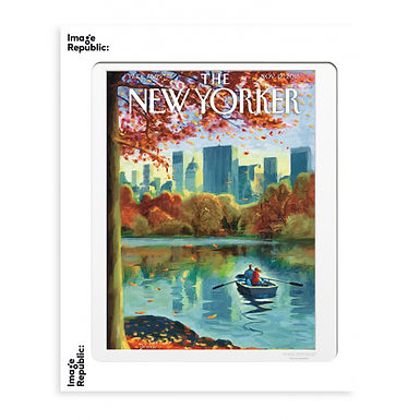 Tirage THE NEW YORKER ROW BOATS 40x50 cm