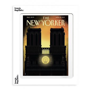 Tirage THE NEW YORKER OUR LADY 40x50 cm