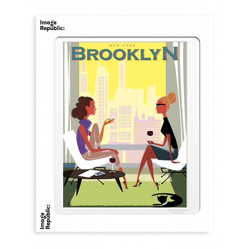 Tirage MONSIEUR Z BROOKLYN 40x50 cm