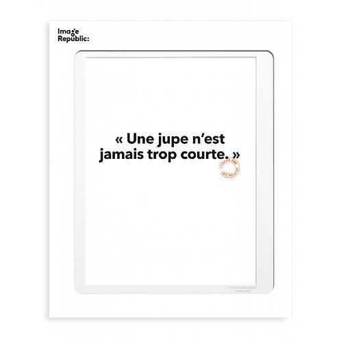 Tirage LOÏC PRIGENT JUPE 30x40 cm