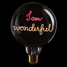 Ampoule I AM WONDERFUL - édition limitée