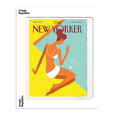 Tirage THE NEW YORKER DROPPED CALL 40x50 cm