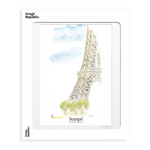 Tirage SEMPE TOUR EIFFEL 30x40 cm