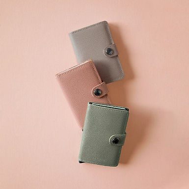 Porte-cartes et billets Miniwallet Crisple Series