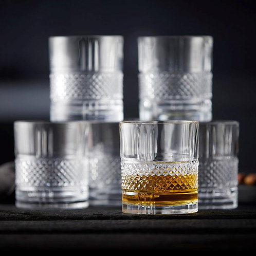 Ensemble 6 verres à whisky BRILLANTE
