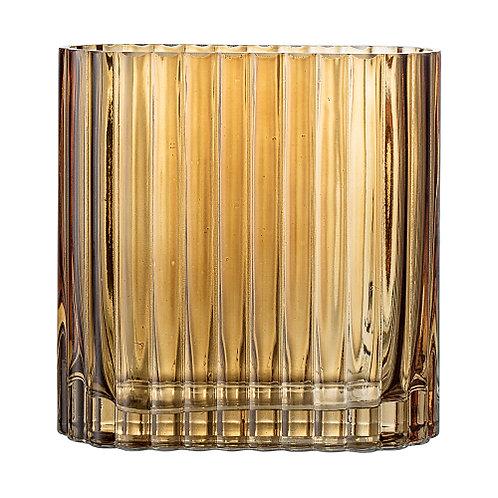 Vase BROWN GLASS rectangulaire