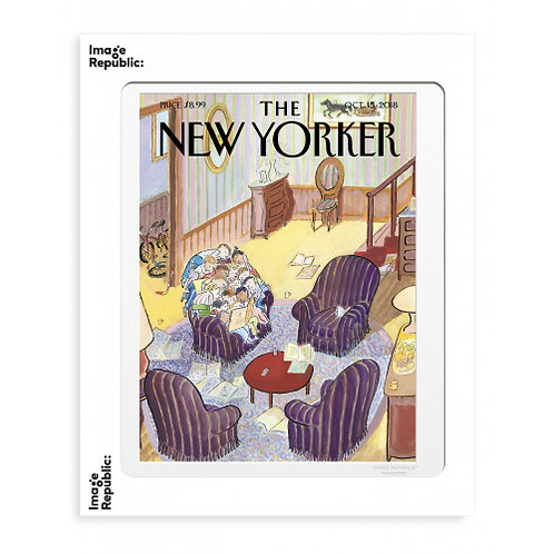 Tirage THE NEW YORKER READING GROUP 40x50 cm