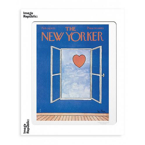 Tirage THE NEW YORKER VALENTINE'S DAY 40x50 cm