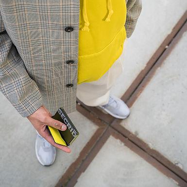 Porte-cartes et billets Slimwallet Matte Black Series