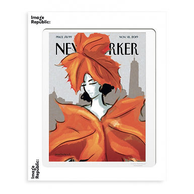 Tirage THE NEW YORKER DRESSING FOR FALL 40x50 cm