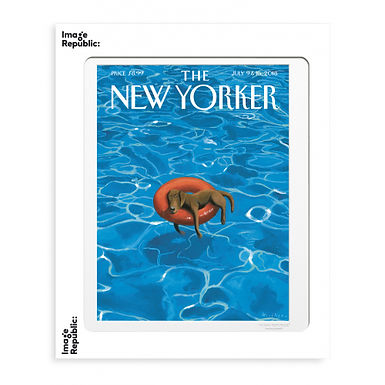 Tirage THE NEW YORKER DOWNTIME 40x50 cm