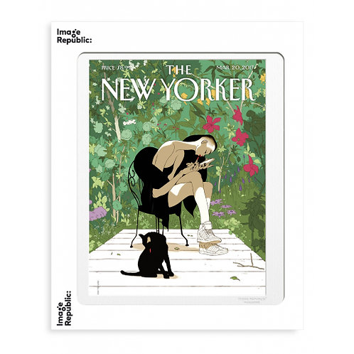 Tirage THE NEW YORKER SPRING AWAKENING 40x50 cm
