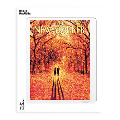 Tirage THE NEW YORKER AUTUMN LEAVES 40x50 cm