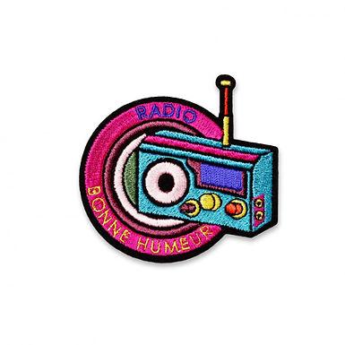 Ecusson RADIO BONNE HUMEUR