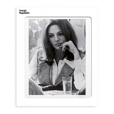 Tirage LA GALERIE JACQUELINE BISSET 1976 40x50 cm