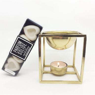 Brule-parfum en laiton