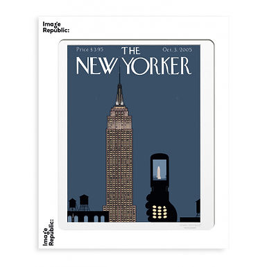 Tirage THE NEW YORKER EMPIRE STATE 40x50 cm