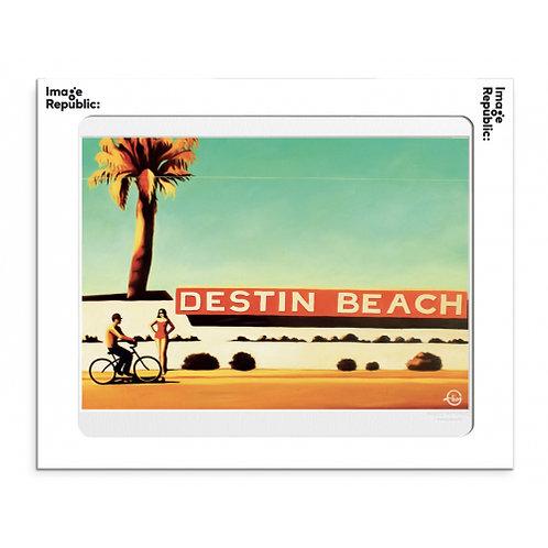 Tirage EMILIE ARNOUX DESTIN BEACH 40x50 cm