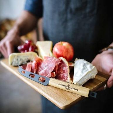 Plateau à fromage + couteau + ouvre-bouteille