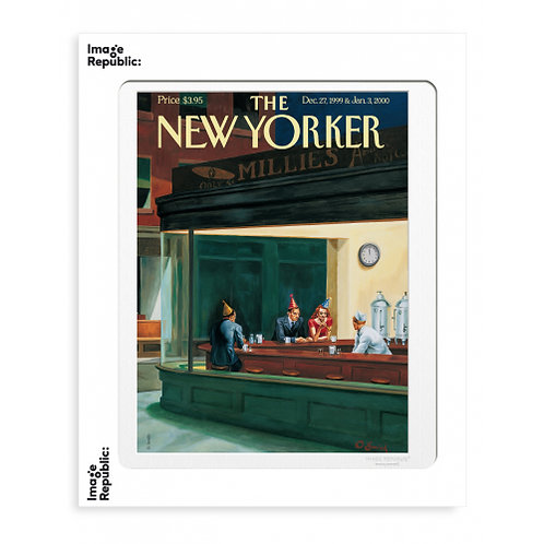 Tirage THE NEW YORKER BAR 40x50 cm