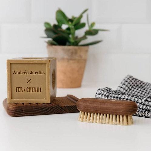 Coffret savon & brosse à ongles