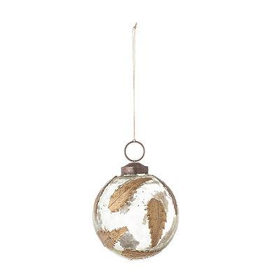 Boule de Noël à suspendre FEUILLE