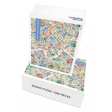 Puzzle ANTOINE CORBINEAU ROME 1000 pièces