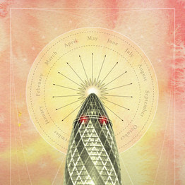 The Gherkin May Day illustration