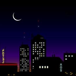 City landscape stock illustration