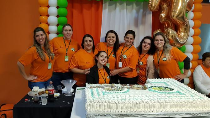 Muita celebração nos 35 anos de História Oliveira's.