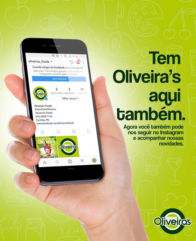 Oliveira's se conecta com você!