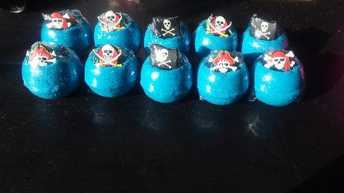 Ring bath bombs