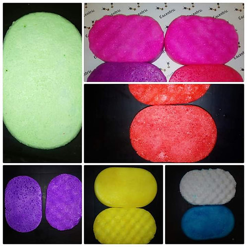Soap sponges 3 for £10