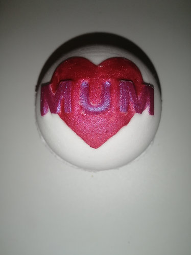 Large round mum bath bomb
