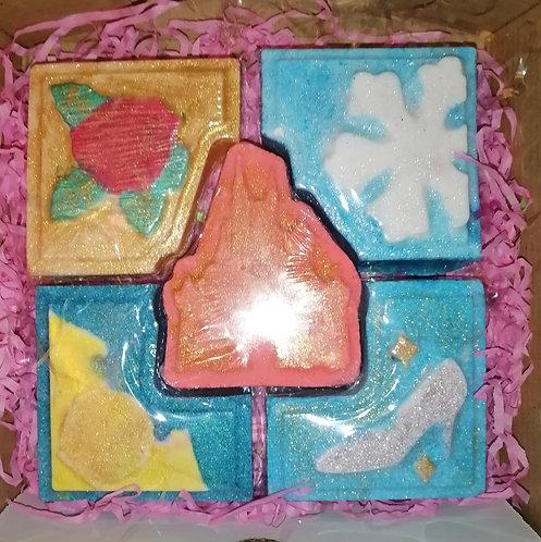Potter or princess 5 piece gift set