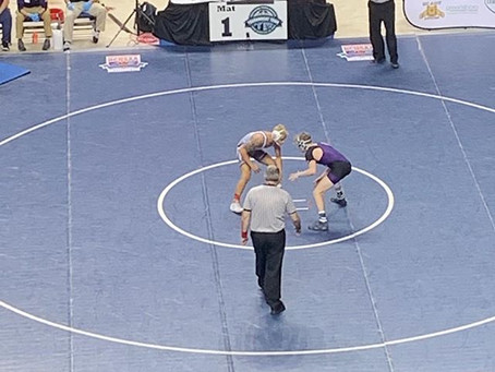 Steele Takes 2nd in State