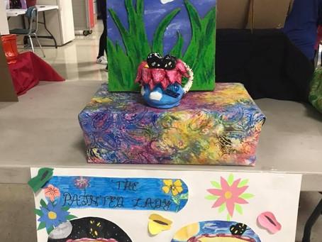 Mug-nificent Talent at 8th Grade Art Show